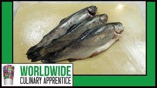 How to butcher whole Trout - How to Fillet a fish - How to debones Trout - How to clean Trout