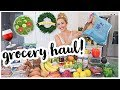 MEDITERRANEAN DIET GROCERY HAUL! 🥗🍋🍷ALL THE FOOD FOR THE MEDITERRANEAN DIET MEAL PLAN | Brianna K