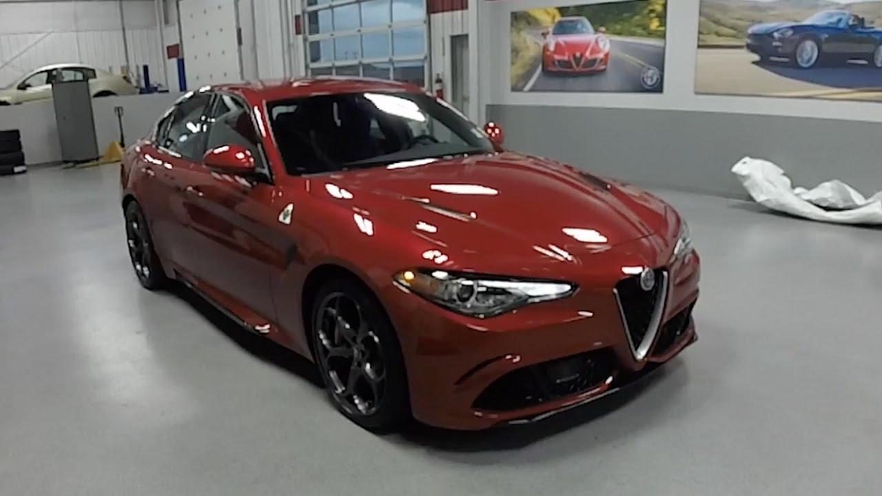 Stelvio Alfa Romeo Price >> 2017 Alfa Romeo Giulia Quadrifoglio|Walk-Around Video|In ...