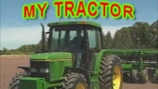Tractors Trucks Farm Machines Action - Fun Children's Song | DVD gift for kids