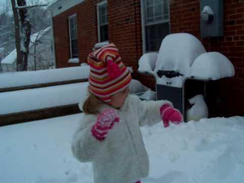 Lilly Snow December 2009.MOV
