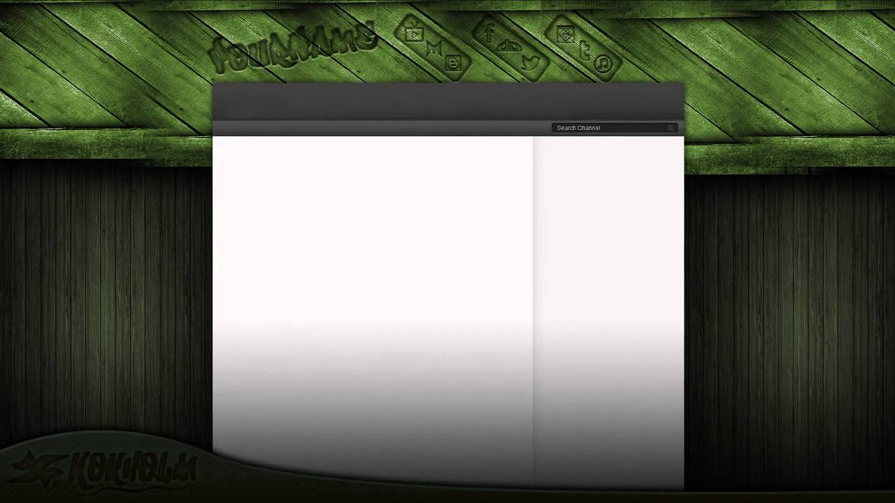 Youtube background template psd [free download].