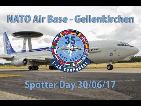NATO Air Base Geilenkirchen, E–3A Component 35°Anniversary