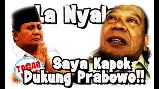 Heboh Pengakuan La Nyalla, Saya Kapok Dukung Prabowo