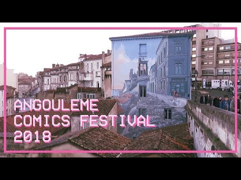 Angoulême International Comics Festival 2018 Impression