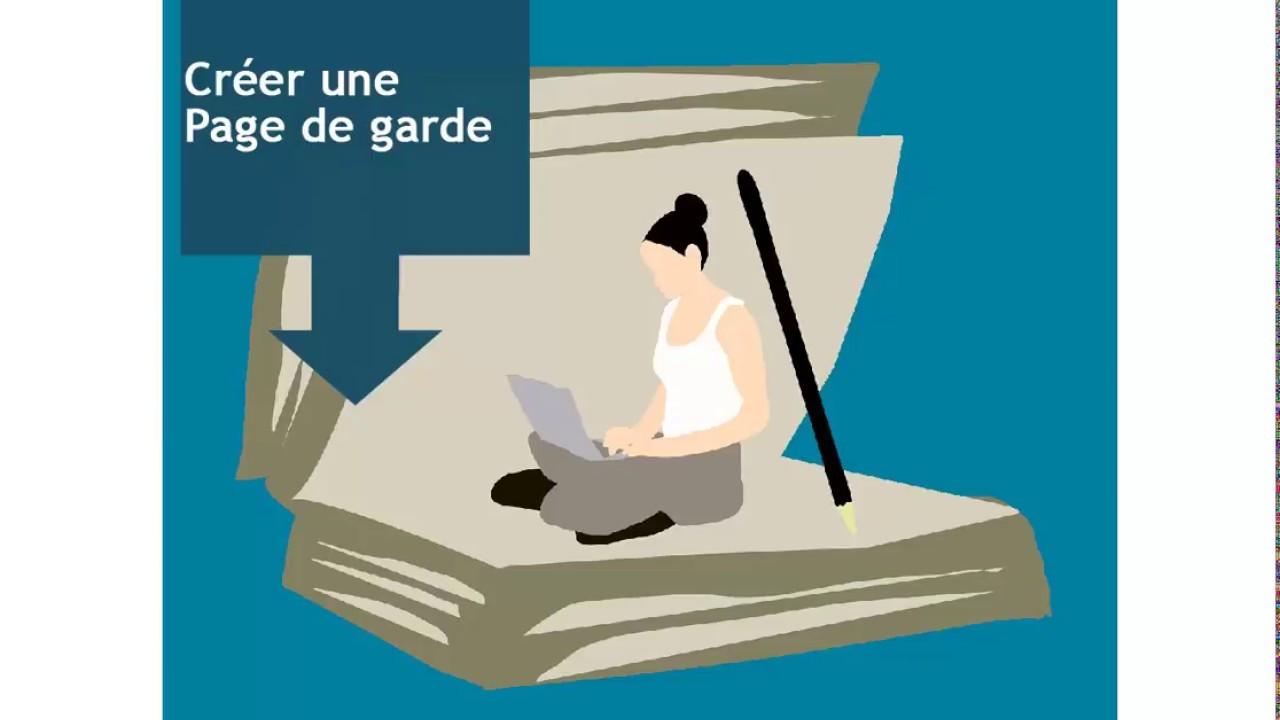 Construire Un Long Document En Word Page De Garde 12 12