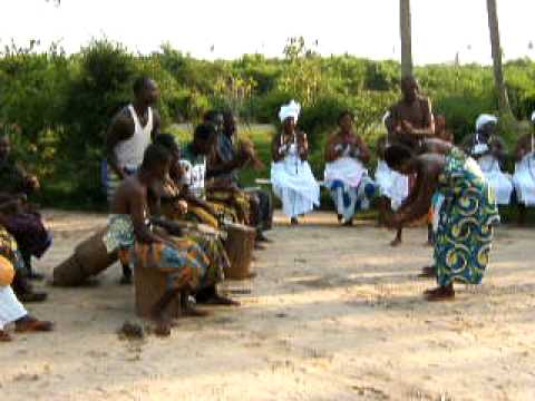 West African celebration music and dance