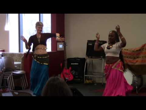 Belly Dance  Gail Spitzer and Dé Bryant