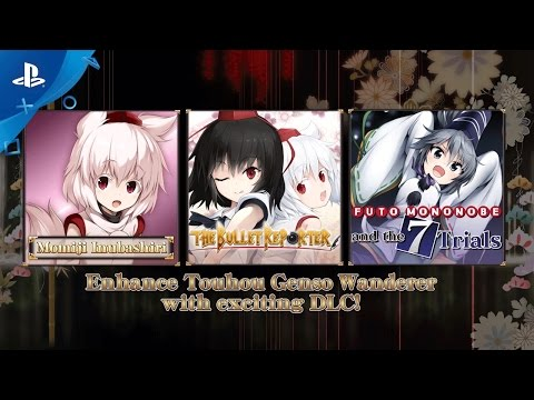 Touhou Genso Wanderer - Launch Trailer | PS4, PS Vita