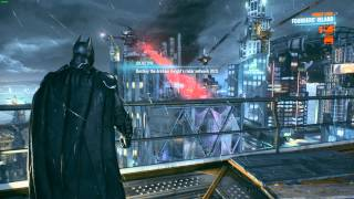 Batman: Arkham Knight - Stuck on roof