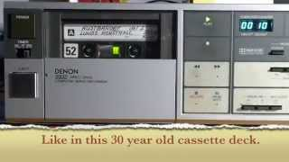 The EZCAP cassette tape to MP3 converter needs a real tape drive