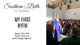 I WENT TO NYFW: Fashion Week Events 2019 + NYC Travel Vlog!