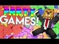 Minecraft PARTY MINIGAMES - Fun Minigame Arcade