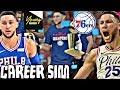 BEN SIMMONS NBA CAREER SIMULATION ON NBA 2K18!! THE NEXT LEBRON JAMES?!