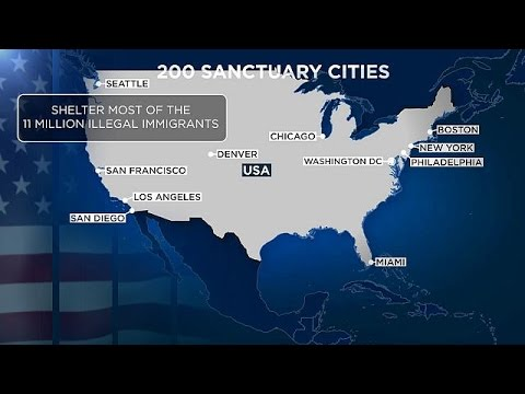 US 'sanctuary' Cities Face Funding Cuts If Migrant-tolerant Policies Continue