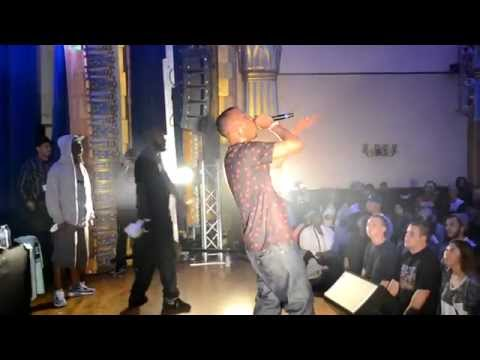 Rhymefest Footage (December 2014) With KRS-One, Aceyalone, Myka 9, Planet Asia, Tri-State