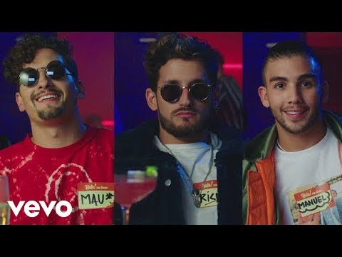 Mau y Ricky, Manuel Turizo, Camilo - Desconocidos (Official Video)