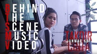 BEHIND THE SCENE MV TAKDIR CINTA   JANWAR KDI