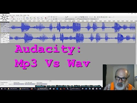 Audacity: Mp3 Vs Wav
