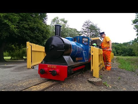 Poole Park Railway Re-Opening 22/07/17