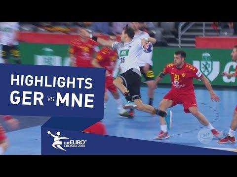 Highlights | Germany vs Montenegro | Men's EHF EURO 2018
