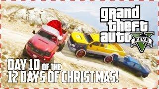 GTA 5 Online - Off-road Santa! (Day 10 of 12) (GTA V)