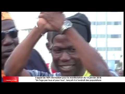 Appel d'Atchadam TIKPI aux populations togolaises : « Un Togo par tous et pour tous »