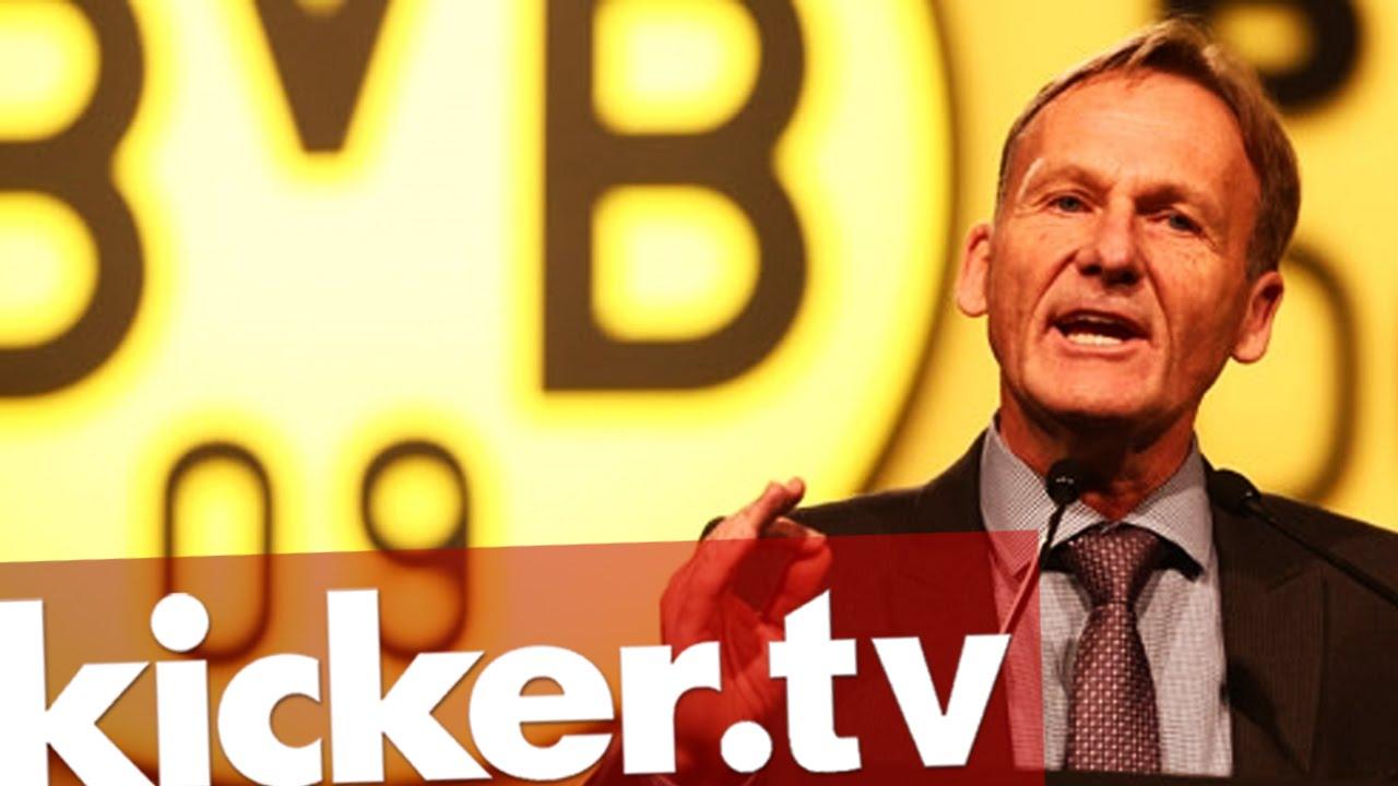 Borussia Dortmund - Watzke wütend - BVB-Boss droht den Spielern - kicker.tv