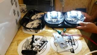 Ттех.рф : светодиодные фары харлей дэвидсон роад глайд led head light harley Davidson Road Glide(Фары светодиодные для мотоцикла harley Davidson , свет супер ,качество высший класс., 2016-07-06T15:46:22.000Z)