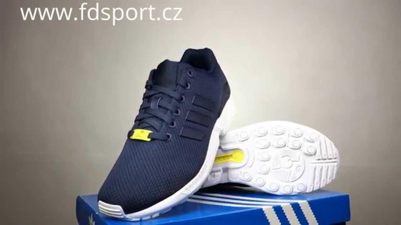 62d52d040 Pánské boty adidas Originals ZX FLUX M19841 - YouTube