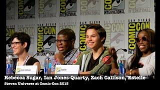Steven Universe Cast and Creator at 2015 Comic-Con