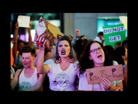 Women to Trump: Hands off