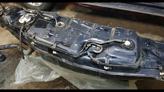 мицубиси паджеро 4 ремонт топливного бака