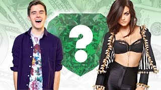 WHO'S RICHER? - Connor Franta or Lucy Hale? - Net Worth Revealed!