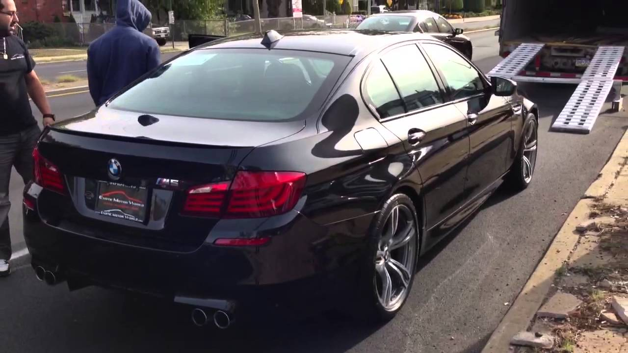 Brand New Bmw M5 F10 Black On Black Twins Youtube