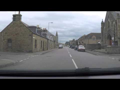 Burghead, Moray, Scotland - by car
