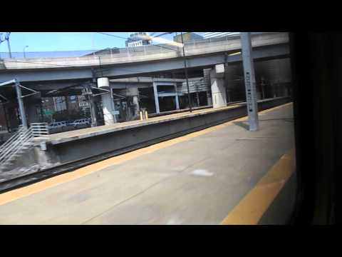 MBTA HD: Pulling into Boston South Station with MP36PH-3C 11 Sitting Out of Service