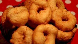 видео Рецепт приготовления творожных пончиков в домашних условиях