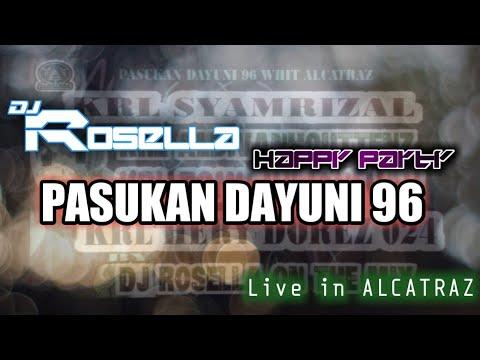 Happy Party ASMARA DAYUNI 96 ALDI VANHOUTEN also KRL SYAMRIZAL live in ALCATRAZ with DJ ROSELLA Mp3