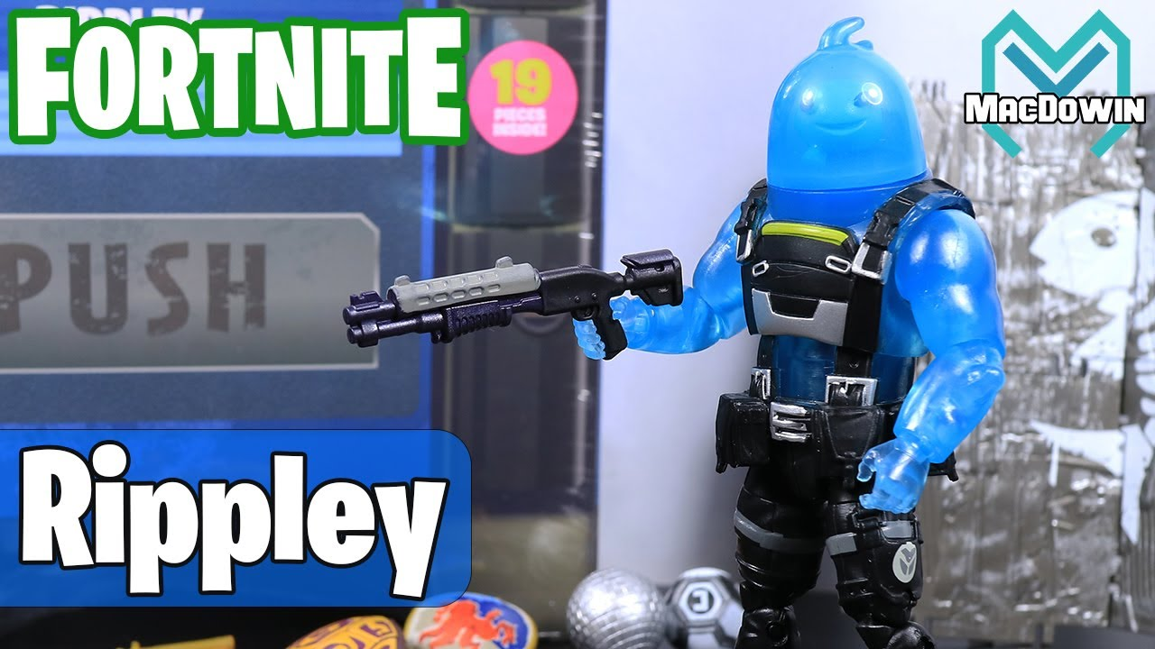New Rippley 2021 4 Inch Action Figure Review Fortnite From Jazwares Youtube