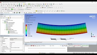 Ansys structural analysis tutorials -  Pure bending stress analysis
