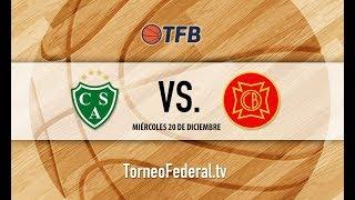 Bonaerense: Sarmiento de Junín vs. Belgrano de San Nicolás   #TFB