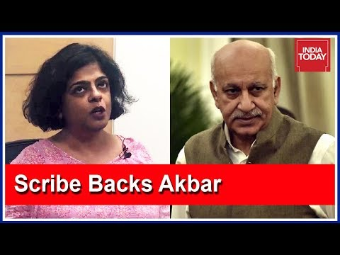 "MJ Akbar's Witness Joyita Basu: ""Akbar Knows How To Have Professional Relationship With Colleagues"""