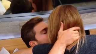Big Brother 17 -- Shelli and Clay -- Hammock Room Kiss