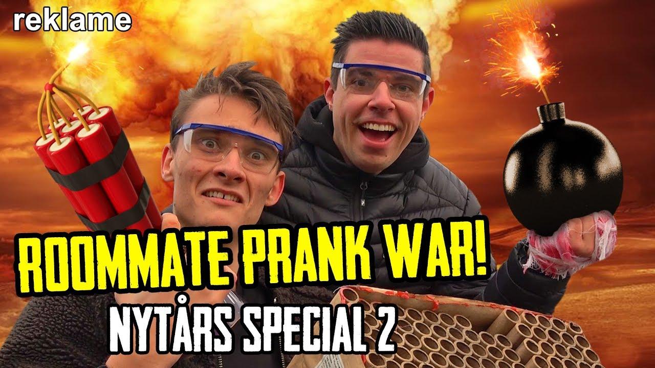 Ultimativ Roommate Prankwar // Nytårs Special Del 2