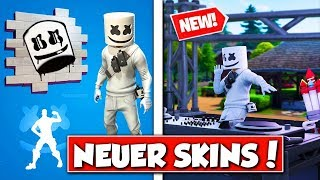 "❌NEW ""MARSHMELLO"" SKIN in FORTNITE FOUND!! 😱 - NEW LIVE EVENT in FORTNITE!!"