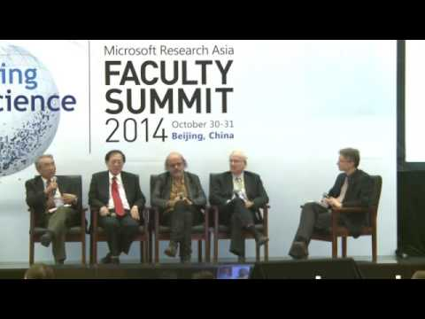 Panel Discussion: Interdisciplinarity: The Future of Computer Science?