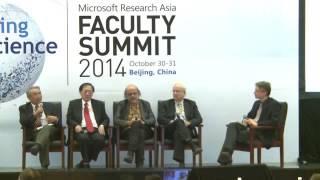 Panel Discussion: Interdisciplinarity: The Future Of Computer Science?