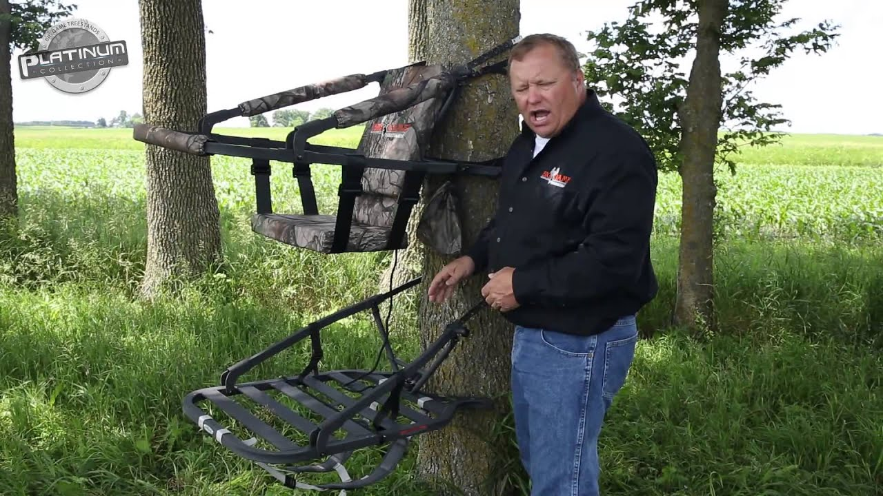 Cobalt Climbing Tree Stand Big Game Treestands Youtube