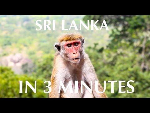 Sri Lanka In 3 Minutes - An Exotic Travel Diary